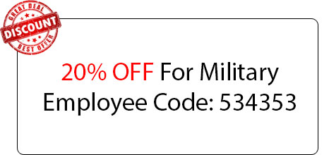 Military Employee Coupon - Locksmith at Irving, TX - Irvingt Exas Locksmith