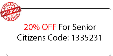 Senior Citizens Coupon - Locksmith at Irving, TX - Irvingt Exas Locksmith